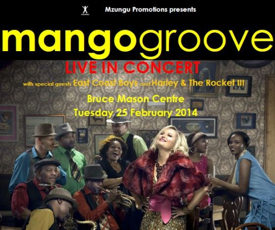 Mango Groove live in Auckland